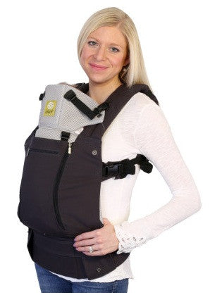 Lillebaby All Seasons Carrier in Charcoal/Silver