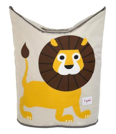 3 Sprouts Laundry Hamper- Lion