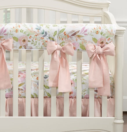 Liz & Roo Bumperless Set in Watercolor Floral