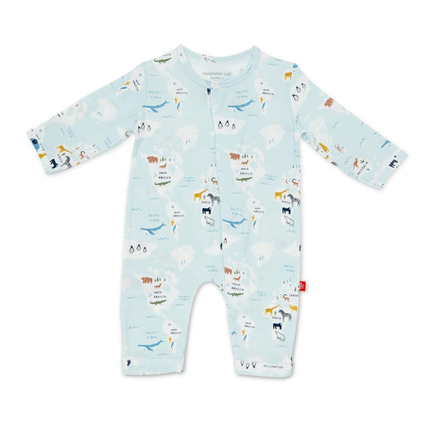 SPRING Magnificent Baby Sea the World Coverall