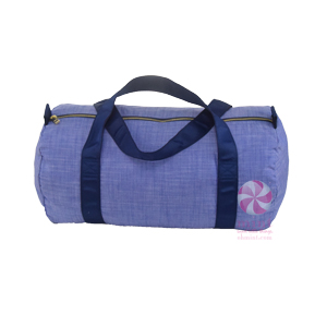 Oh Mint! Duffle in Navy Chambray