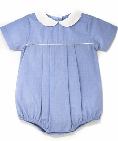 Petit Ami Blue Chambray Bubble