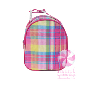 Oh Mint! Cooler Bag in Popsicle Plaid