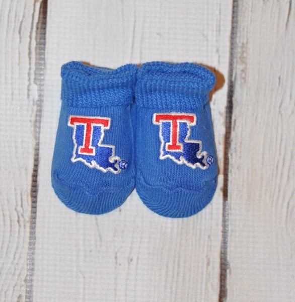 Creative Knitwear Bootie- Louisiana Tech