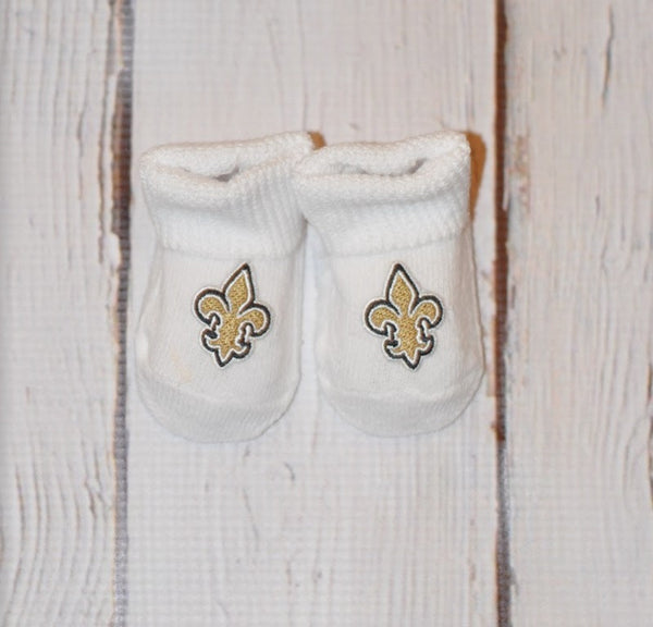 Creative Knitwear Bootie- Saints