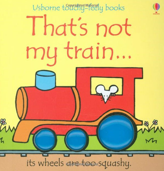That's not my train... touchy-feely books