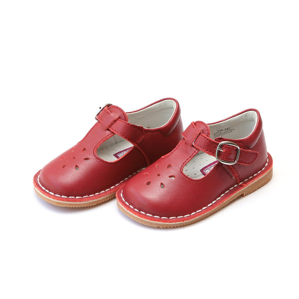 L'Amour Joy Classic Mary Jane- Red