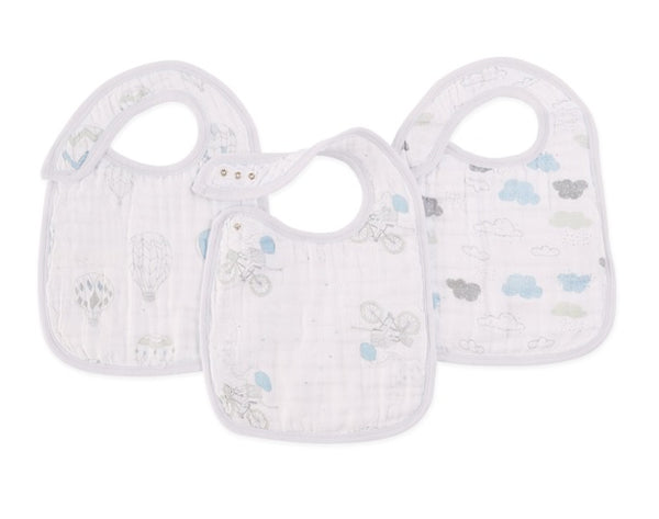Aden Snap Bibs in Night Sky