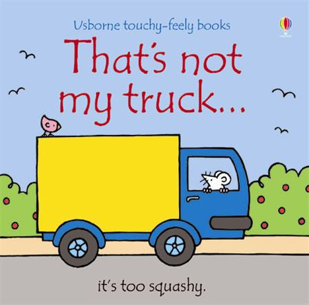 That's not my truck... touchy-feely books