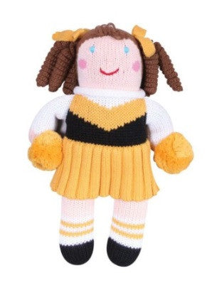 Zubels Cheerleader in Black/Gold