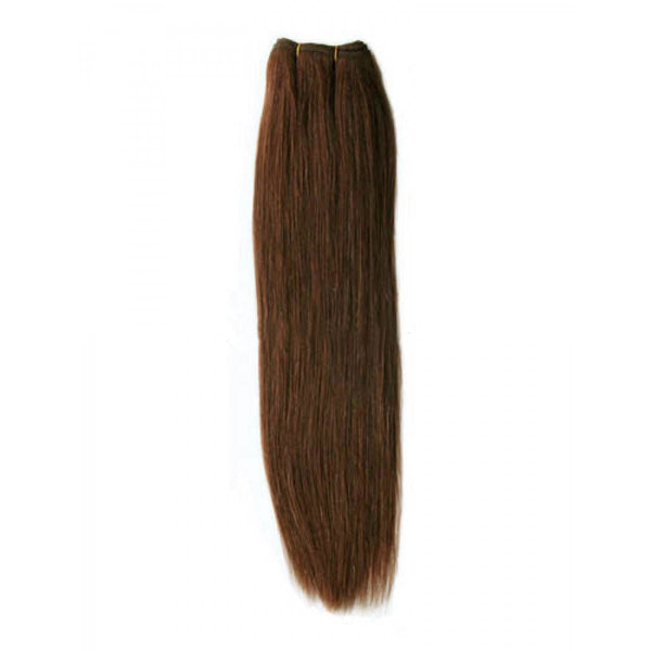 Straight Clip In Extensions (#4 Brown) - Low price cheap hair extensions