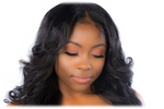 """ASHLEY"" Pink Silk 3D Mink Eyelashes - Low price cheap hair extensions"