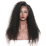 Deep Wave Human Hair Wig (Natural 1B) - Low price cheap hair extensions