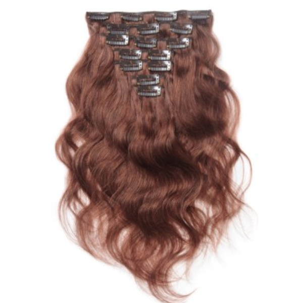 Body Wave Clip In Extensions 33 Butler Hair Bundle Supply