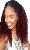 Deep Wave Ombre Three Bundles + Lace 4x4 Closure (1B/99J)