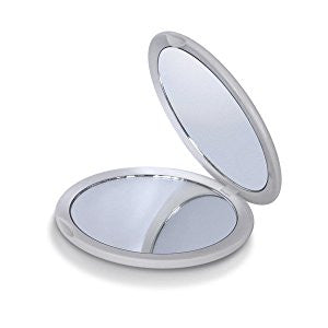 Magnifying Compact Mirror by Mavoro Beauty Essentials - Low price cheap hair extensions