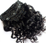 Loose Wave Clip In Extensions (Natural 1B)