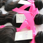 Body Wave Human Hair (Three Bundles) (Natural 1B) - Low price cheap hair extensions