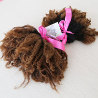 Afro Kinky Curly Ombre Human Hair (Three Bundles) (1B/30) - Low price cheap hair extensions