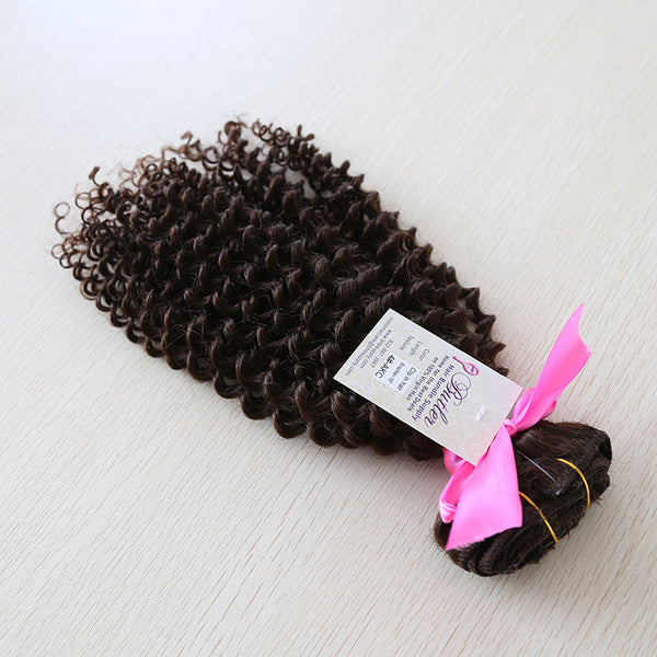 Exotic Kinky Curly Clip In Extension #4 Solid (One Bundle) (20 clips) - Butler Hair Bundle Supply Reviews