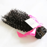 Exotic Kinky Curly Clip In Extension Natural #1B (One Bundle) (20 Clips) - Butler Hair Bundle Supply Reviews