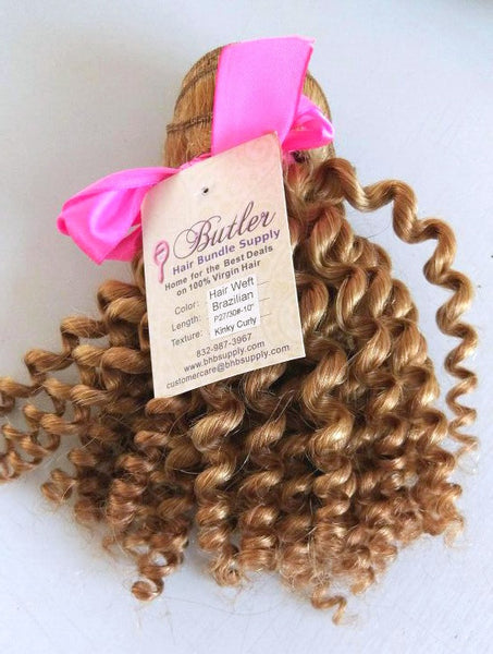 Kinky Curly Piano Clip In Extensions (27/30) - Low price cheap hair extensions