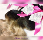 Body Wave Ombre Human Hair (Three Bundles) (1B/16) - Low price cheap hair extensions
