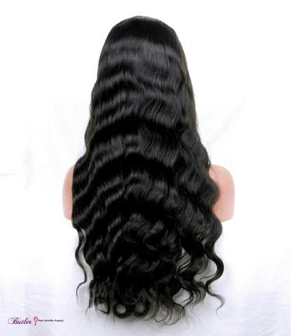 Body Wave Human Hair Wig (Natural 1B) - Low price cheap hair extensions