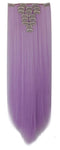 Straight Clip In Extensions (Lilac Purple) - Low price cheap hair extensions