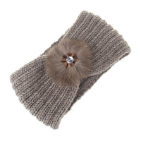Knitted Turban Hair Band (6 Colors Available)