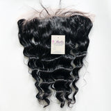 Deep Glamour Wave Frontal 13 X 4 Silk Base Closure (Natural 1B) - Butler Hair Bundle Supply Reviews