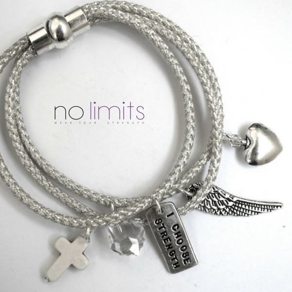 Happiness | Tri-Rope Charm Bracelet