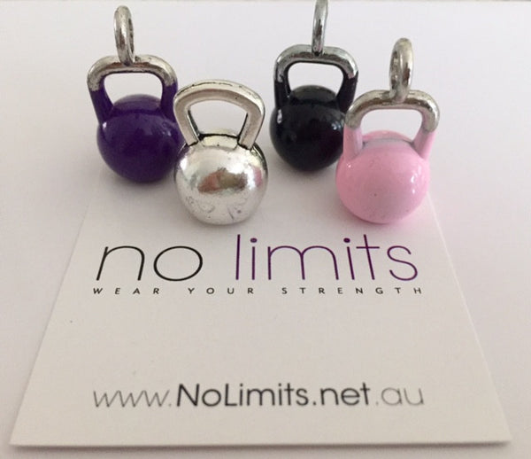 No Limits Power kettle bell charms