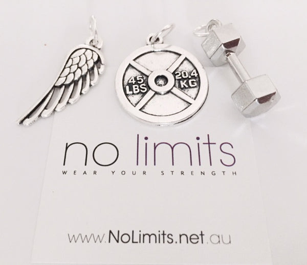 No Limits large charms