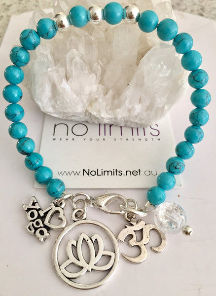 Ocean breeze yoga bracelet