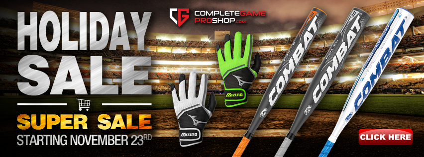 Bats, gloves and more up to 70% off