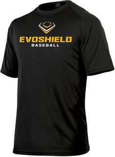 EvoShield Baseball Men's Graphic Tee Black - Complete Game Pro Shop