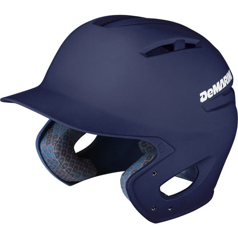 DeMarini Paradox Batting Helmet - Matte- Navy - Complete Game Pro Shop