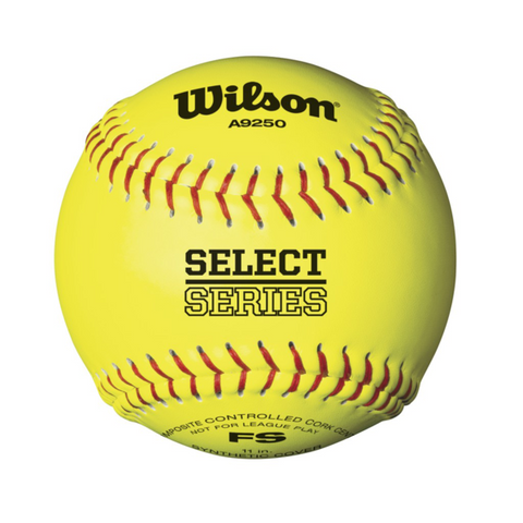 Wilson Series A9250 11 Inch Softballs (1 Dozen) - Complete Game Pro Shop