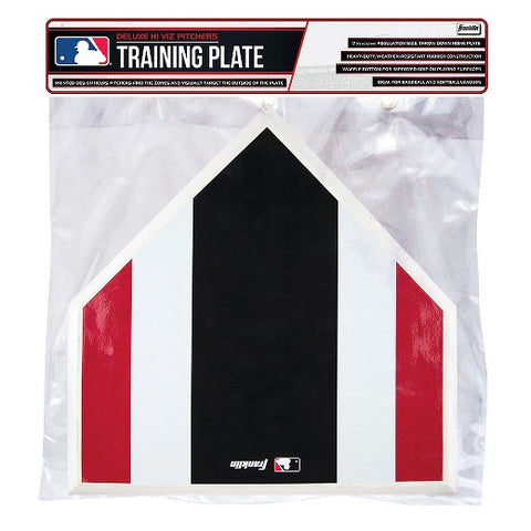 "Franklin Deluxe Hi Viz 17"" Pitchers Training Plate - Complete Game Pro Shop"