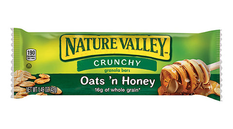 Nature Valley Oats & Honey Granola Bar - Complete Game Pro Shop