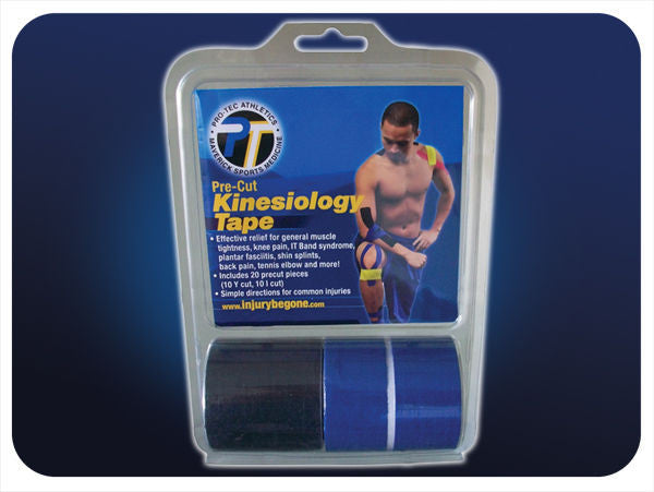 Pro-Tec Athletics Pre-Cut Kinesiology Tape - Complete Game Pro Shop