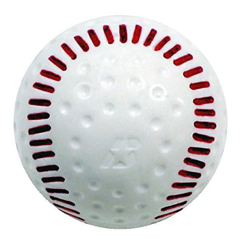 Baden Featherlite White Seamed Dimpled Baseball - Complete Game Pro Shop