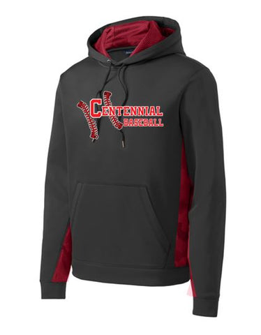 Baseball Fleece CamoHex Colorblock Performance Hoodie - Complete Game Pro Shop