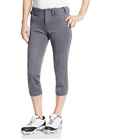 Intensity Pick Off Low Rise Fastpitch Pants- Gunmetal Grey - Complete Game Pro Shop