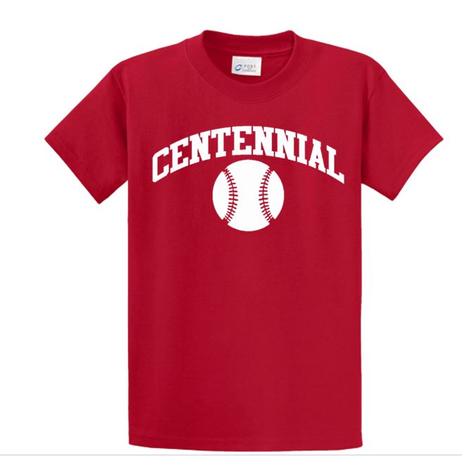 Centennial Baseball T-shirt - Complete Game Pro Shop