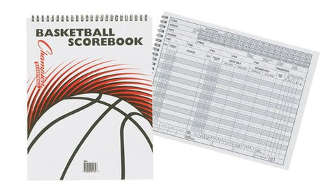 Champion Sports Basketball Scorebook - Complete Game Pro Shop