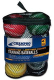 Champro Sports Weighted Leather Cover Training Baseballs - Complete Game Pro Shop