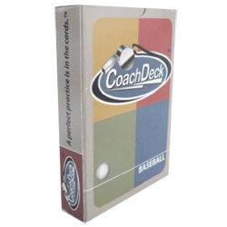 CoackDeck Baseball Drill Training Cards - Complete Game Pro Shop