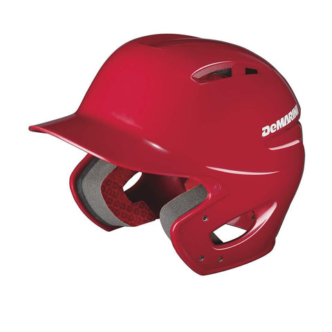 DeMarini Paradox Pro Fitted Batting Helmet- Matte/Red - Complete Game Pro Shop